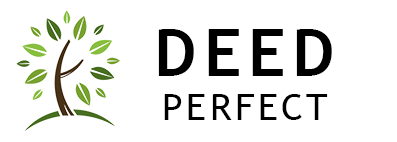 Deed Perfect Logo with Tree