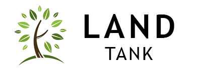 LandTank Logo with Tree